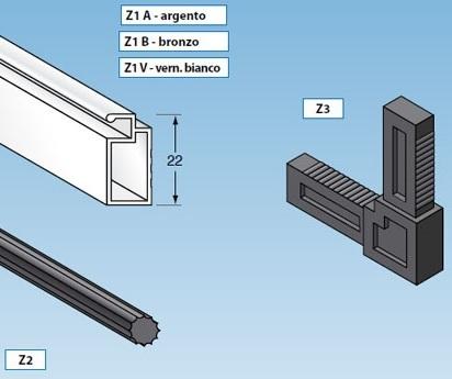 Profili Alluminio Per Zanzariere Fisse Al Go Alluminio