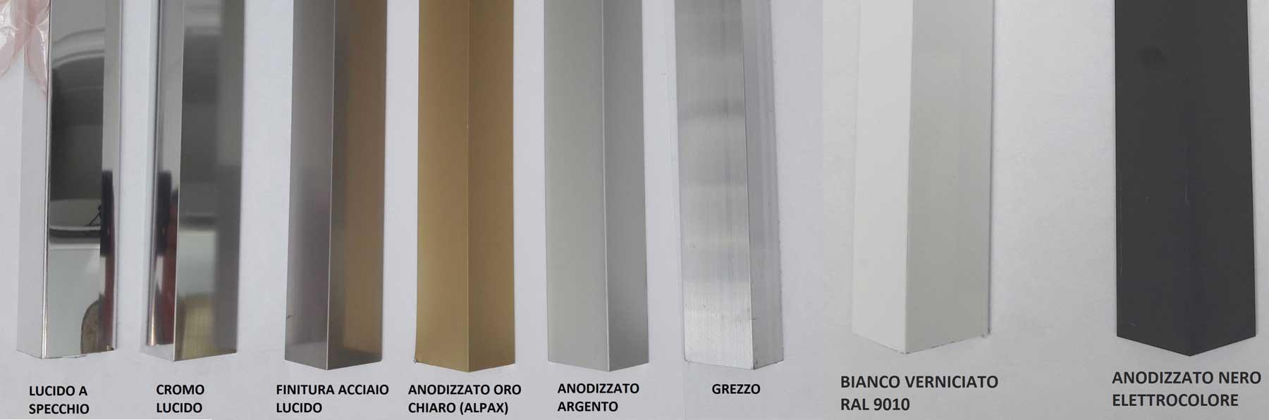 Profili Commerciali Alluminio Anodizzato Al Go Alluminio